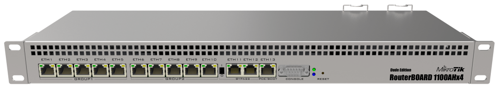 MikroTik router - RB1100AHx4